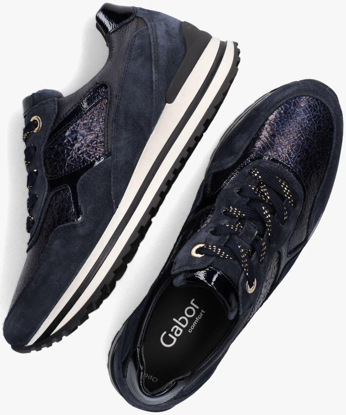 Blauwe GABOR Lage sneakers 524.2  - larger