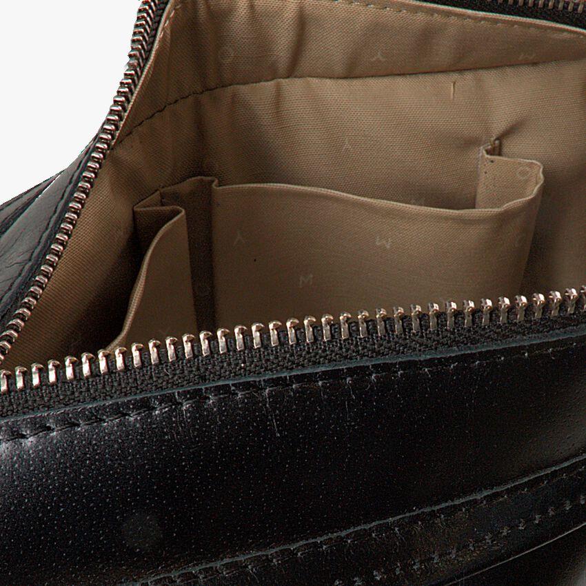 Zwarte MYOMY Schoudertas MY PAPER BAG WRAPPED CROSSBODY  - larger