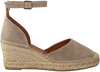 Taupe VIA VAI Espadrilles FLORA BRAID - small