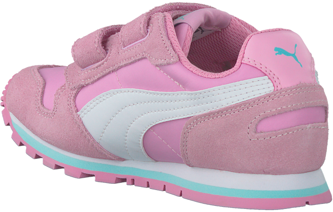 Roze PUMA Sneakers ST RUNNER V KIDS  - large