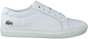 Witte LACOSTE Sneakers L.12.12 - small