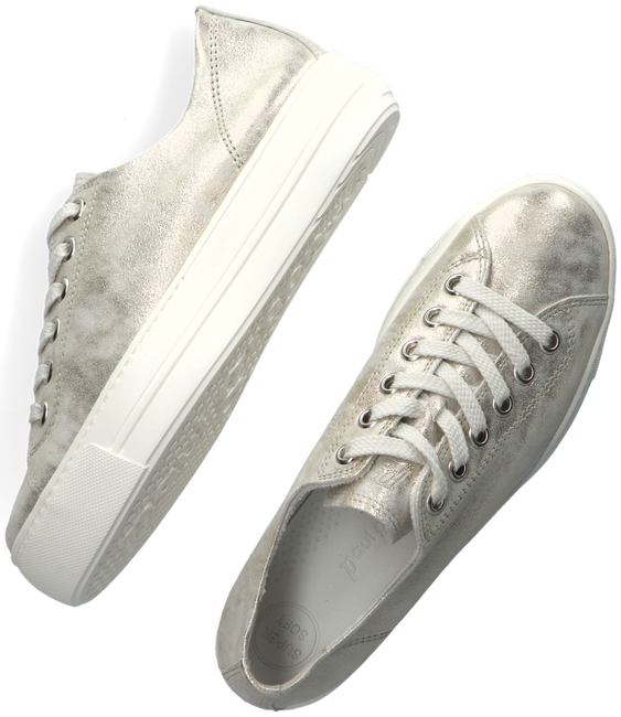 Gouden PAUL GREEN Lage sneakers 4790  - large