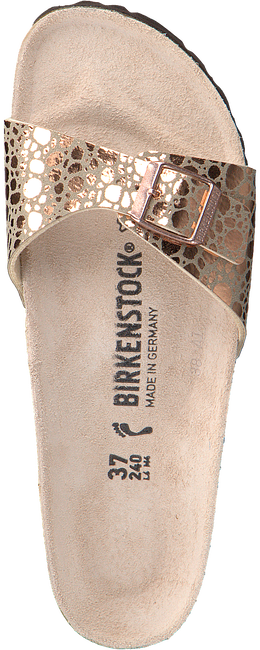 Beige BIRKENSTOCK PAPILLIO Slippers MADRID METALLIC STONES  - large