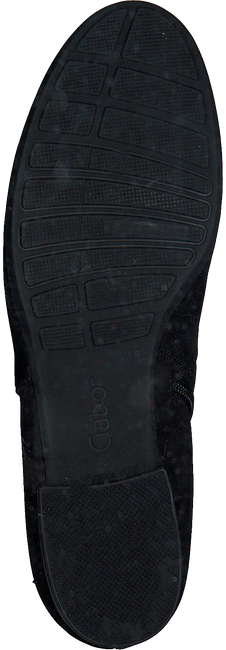 Zwarte GABOR Enkellaarsjes 714  - large