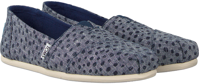 Blauwe TOMS Instappers CLASSIC - large