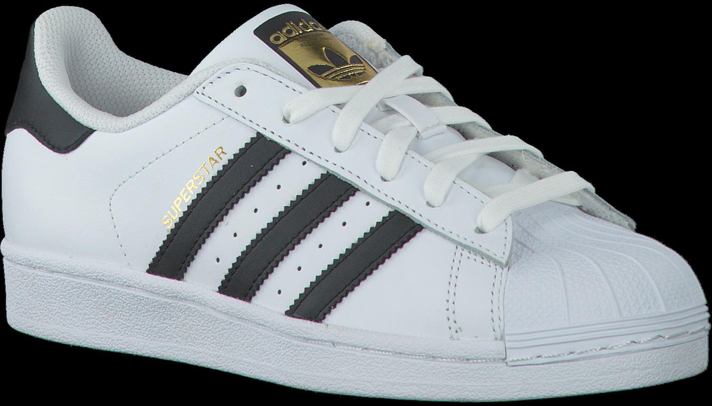 Witte ADIDAS Sneakers SUPERSTAR DAMES - Omoda.nl