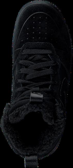 Zwarte NIKE Hoge sneaker COURT BOROUGH MID KIDS  - large