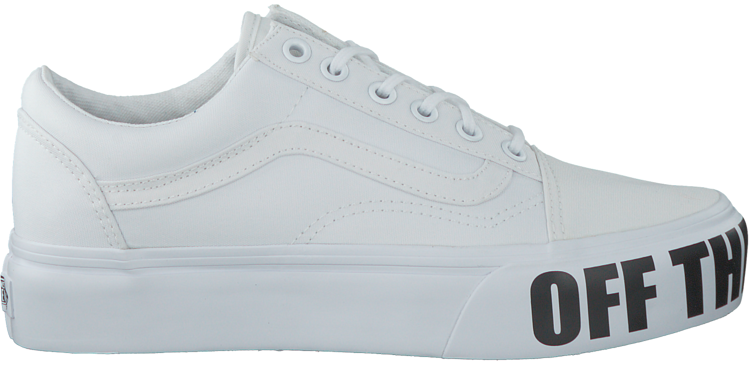 2e52f57d4b0afa Witte VANS Sneakers OLD SKOOL PLATFORM - large. Next