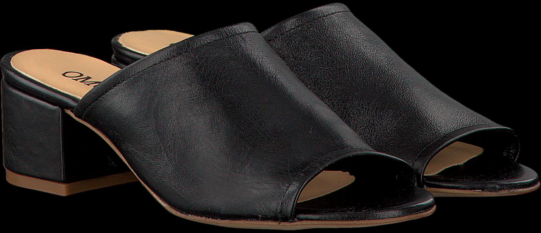 Omoda Pantoufles Noires 4120102 De Omoda