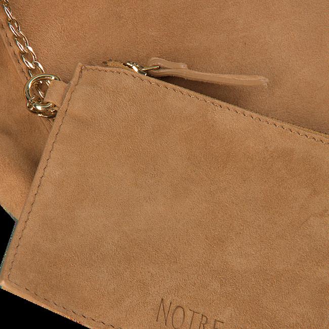 Bruine NOTRE-V Handtas 18252  - large