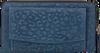 Blauwe LOULOU ESSENTIELS Portemonnee SLB LOVELY LEOPARD - small