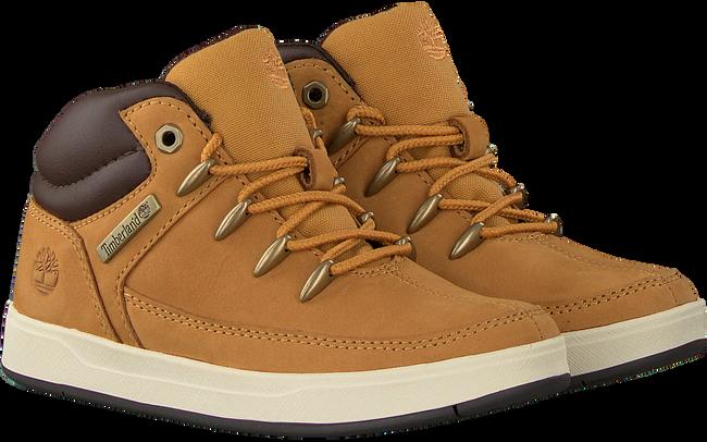 Camel TIMBERLAND Sneakers DAVIS SQUARE EUROSPRINT KIDS  - large