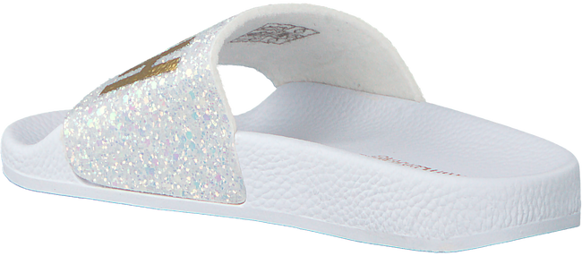 Witte THE WHITE BRAND Slippers GLITTER BEACH KIDS - large