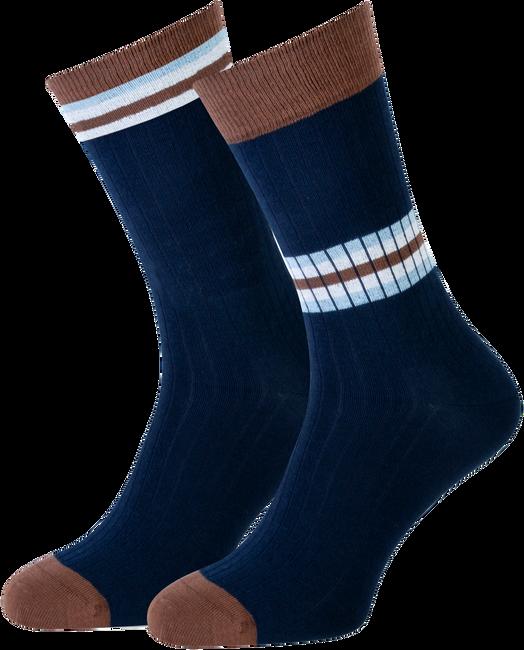 Blauwe MARCMARCS Sokken BASTIAAN  - large