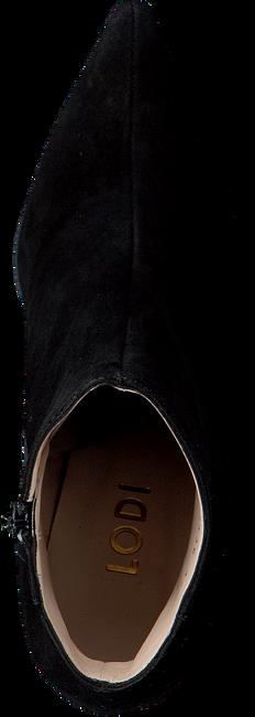 Zwarte LODI Enkellaarsjes MOREI  - large