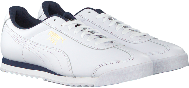 Witte PUMA Sneakers PUMA ROMA CLASSIC LEATHER - large