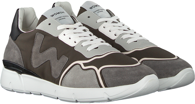 Grijze WOMSH Lage sneakers RUNNY  - large