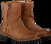 Cognac BLACKSTONE Biker boots OL24  - small