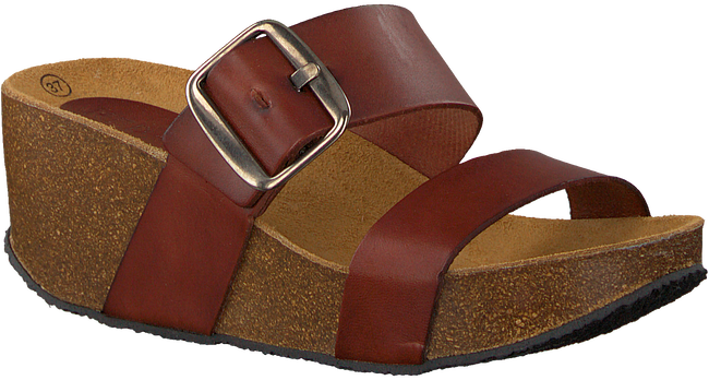 Cognac RED-RAG Slippers 78074  - large