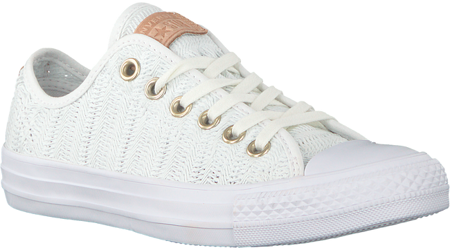 Witte CONVERSE Sneakers CTAS OX WHITE/TAN/MOUSE - large