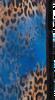 Blauwe ROMANO SHAWLS AMSTERDAM Sjaal SHAWL ANIMAL PONY - small