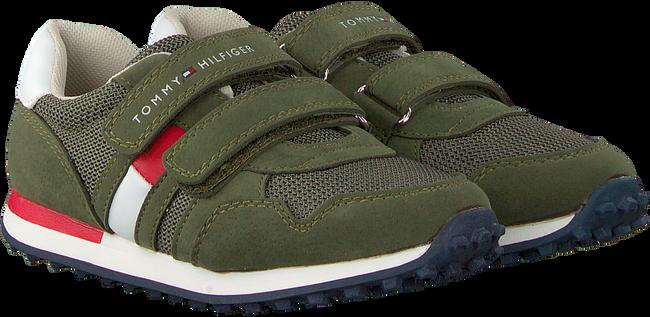 Groene TOMMY HILFIGER Sneakers LOW CUT VELCRO SNEAKER  - large