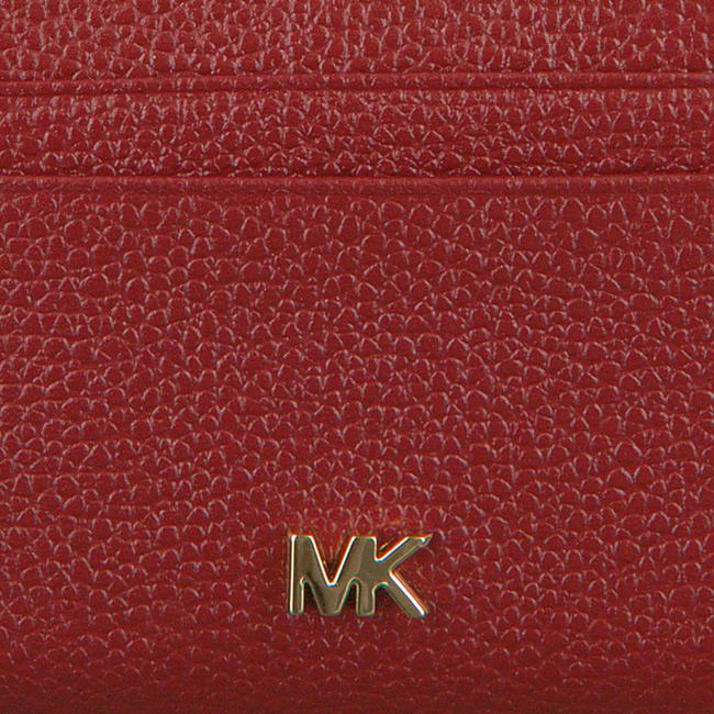 Rode MICHAEL KORS Portemonnee ZA COIN CARD CASE  - large