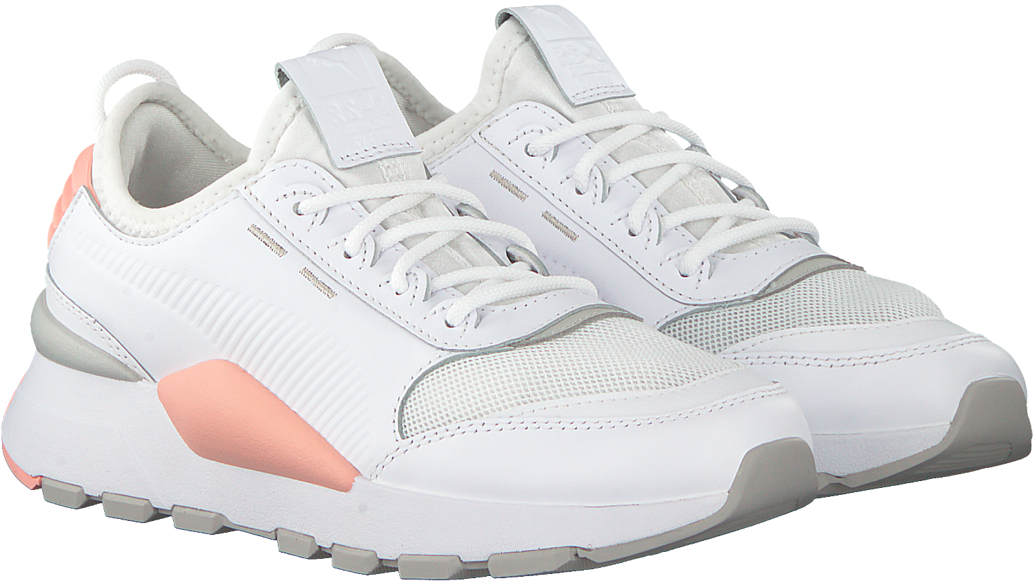 Witte PUMA Sneakers RS-0 SOUND DAMES   Omoda