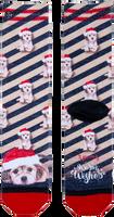 Multi XPOOOS Sokken XMAS PUPPY  - medium