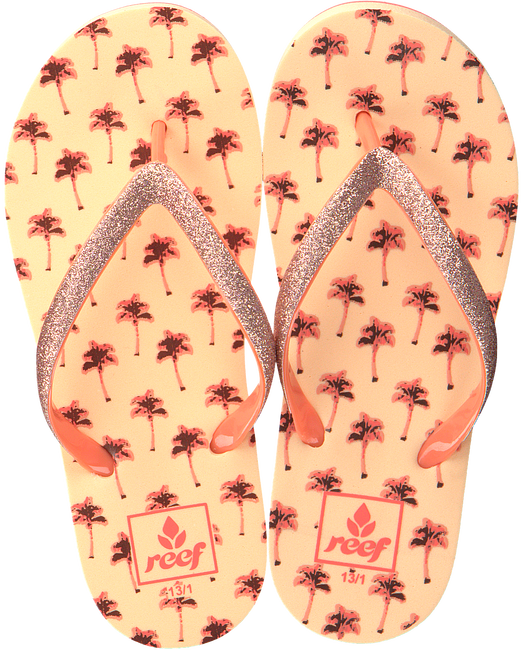 Oranje REEF Slippers LITTLE STARGAZER - large