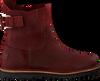 Rode SHABBIES Enkellaarsjes 181020134 - small