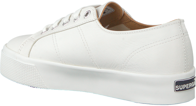 Witte SUPERGA Sneakers LAMEW  - large