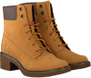 Camel TIMBERLAND Enkelboots BRINDA 6IN LACE UP  - small