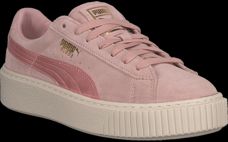 Satin Platform Mono Roze Puma Sneakers Suede nl Omoda wC8pWXq