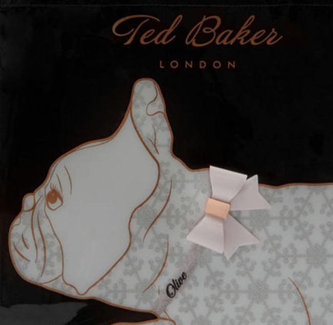 Zwarte TED BAKER Handtas ALYACON  - large