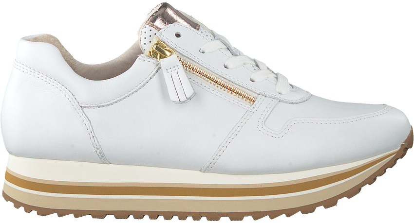 Witte GABOR Lage sneakers 448  - larger