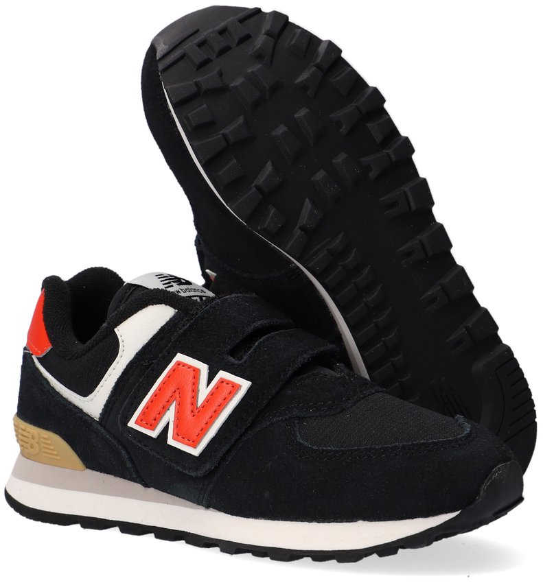 Zwarte NEW BALANCE Lage sneakers PV574  - larger