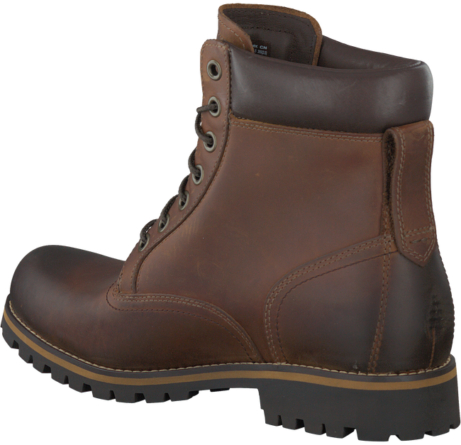 Cognac TIMBERLAND Enkelboots RUGGED 6 IN PLAIN TOE WP  - large