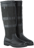 Zwarte DUBARRY Lange laarzen GALWAY  - small