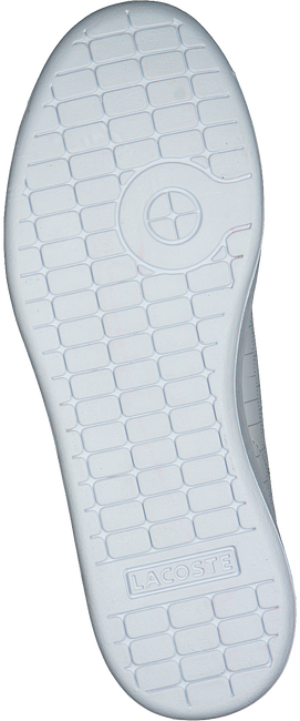 Witte LACOSTE Sneakers CARNABY EVO 118 1 SPC  - large