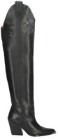 Zwarte BRONX Overknee laarzen NEW-KOLE 14193 - medium