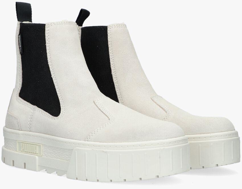 Beige PUMA Chelsea boots MAYZE CHELSEA WN  - larger