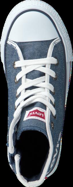 Blauwe LEVI'S Sneakers DUKE MG MID CHAMBRAY KIDS  - large