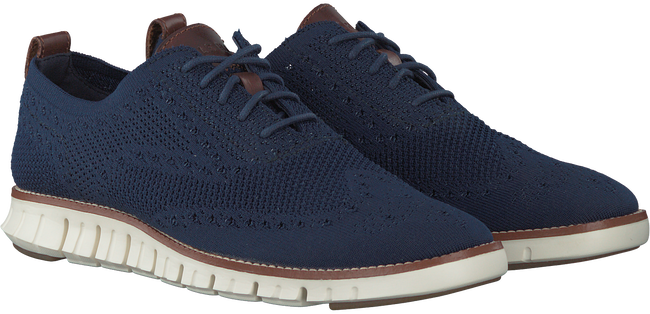 Blauwe COLE HAAN Sneakers ZEROGRAND STITCHLITE MEN - large