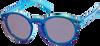 Blauwe LE BIG Zonnebril SALVIA SUNGLASSES  - small