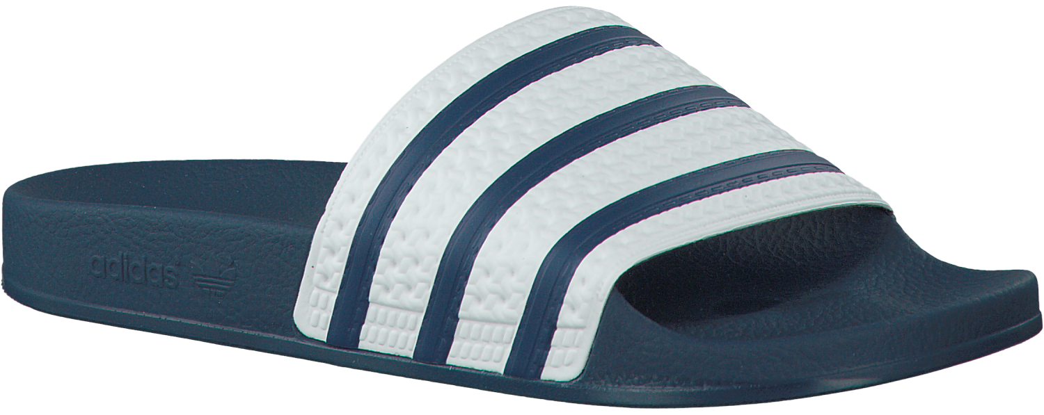 b2d95707f11 Blauwe ADIDAS Slippers ADILETTE HEREN - large. Next