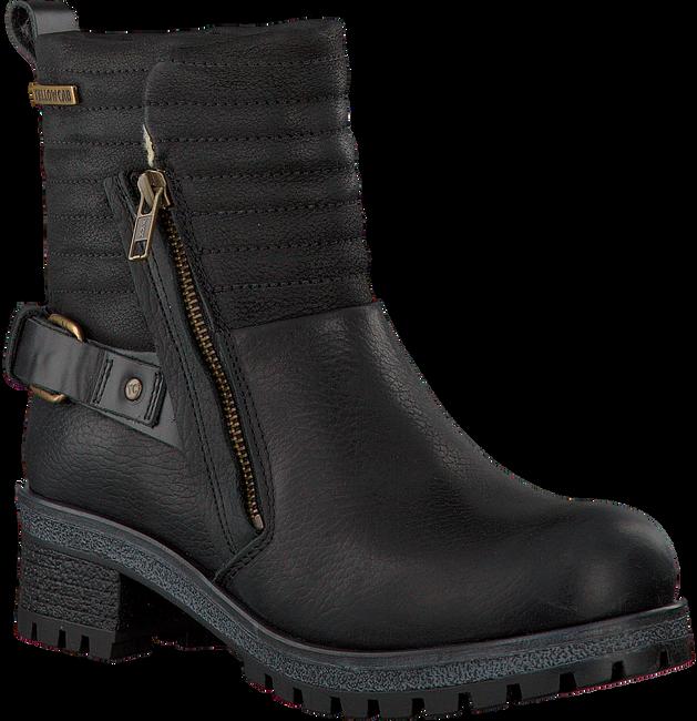 Zwarte YELLOW CAB Biker boots Y26148  - large