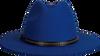 Blauwe ROMANO SHAWLS AMSTERDAM Hoed BORSELINO - small