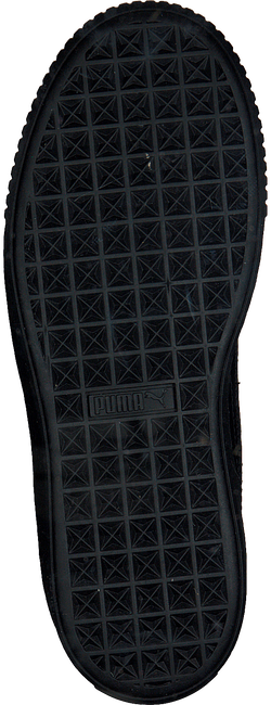 Zwarte PUMA Sneakers BASKET PLATFORM VR  - large