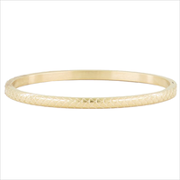 Gouden MY JEWELLERY Armband BANGLE RUITJES - medium